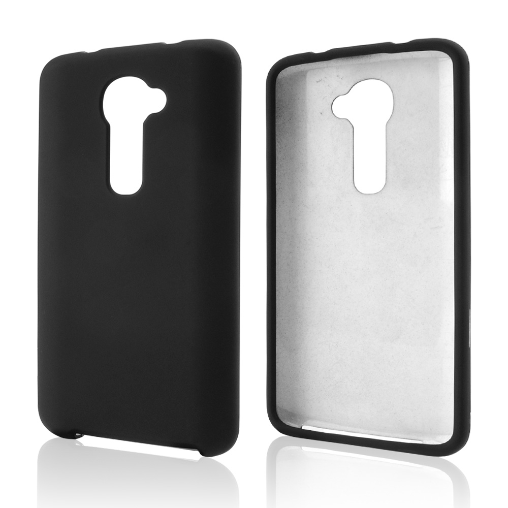 Black Rubberized Hard Case for LG G2 (Verizon Version)