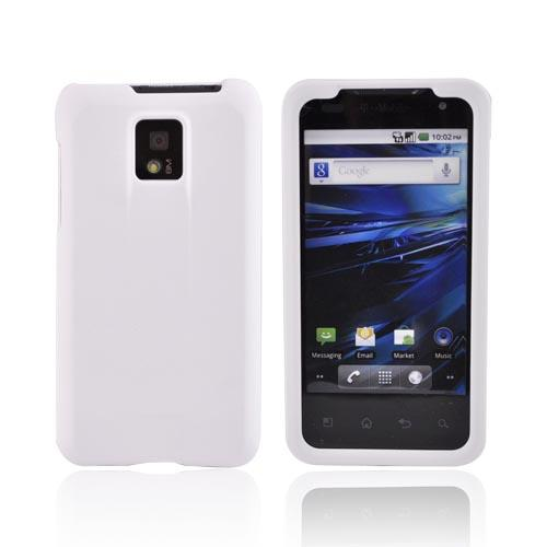 T-Mobile G2X Rubberized Hard Case - White