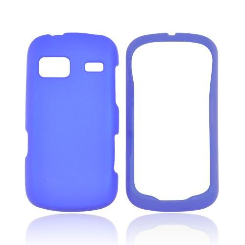 LG Rumor Reflex Rubberized Hard Case - Blue
