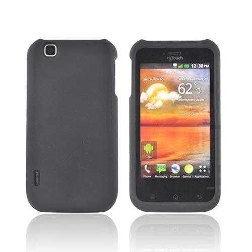 T-Mobile MyTouch Rubberized Hard Case - Black