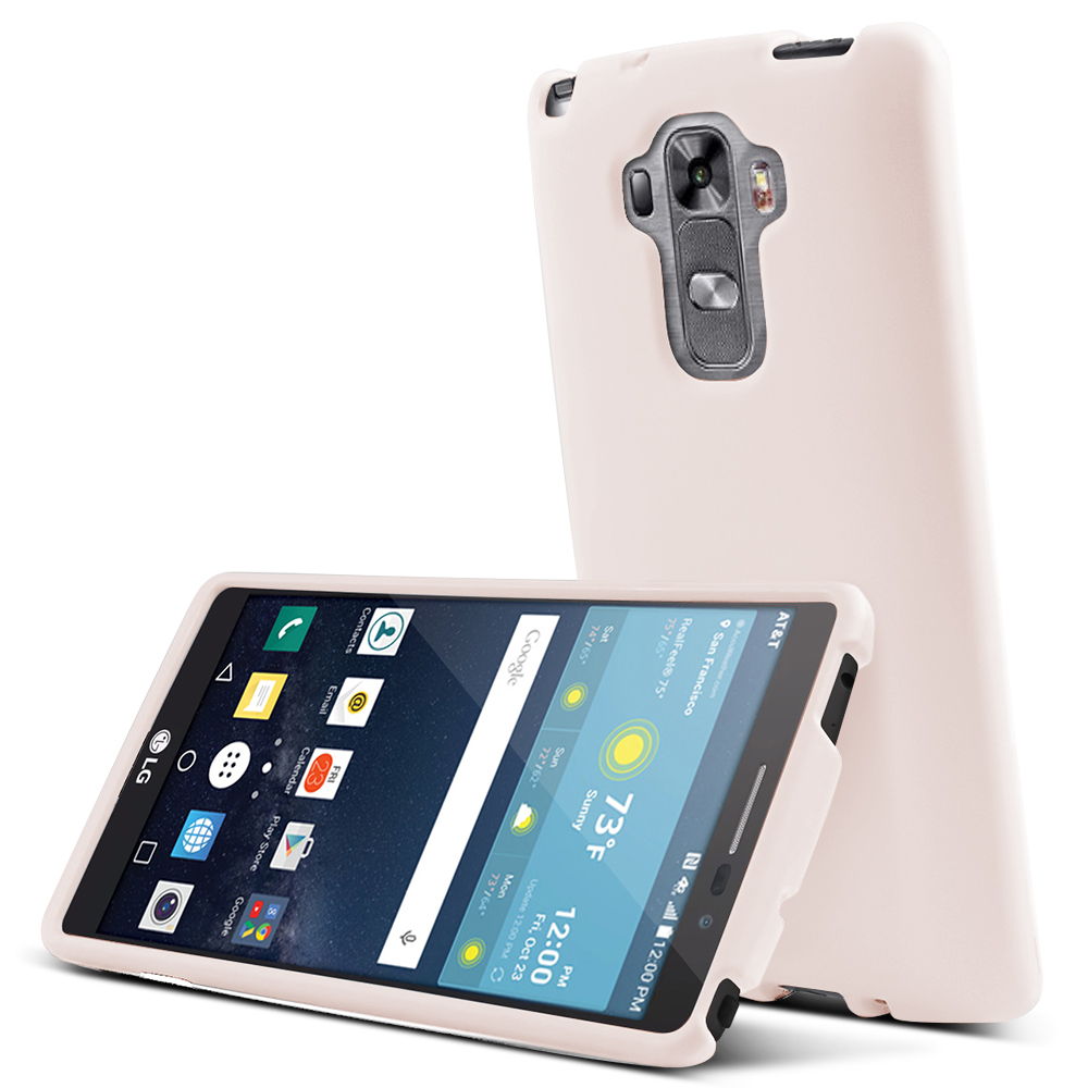 LG G Vista 2 Case, [White] Slim & Protective Rubberized Matte Finish Snap-on Hard Polycarbonate Plastic Case Cover