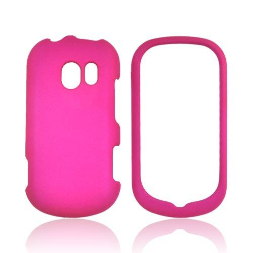 LG Extravert VN271 Rubberized Hard Case - Rose Pink