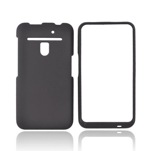 LG Revolution, LG Esteem Rubberized Hard Case - Black