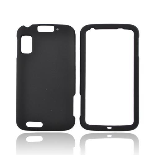 Motorola Atrix 4G Rubberized Hard Case - Black