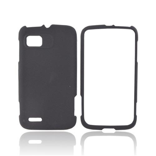 Motorola Atrix 2 Rubberized Hard Case - Black