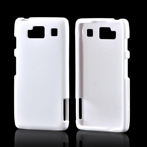 motorola droid razr white. motorola droid razr maxx hd rubberized hard case - white razr