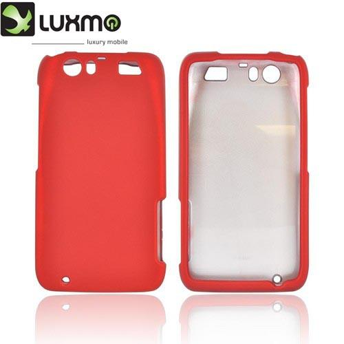 Motorola Atrix HD Rubberized Hard Case - Red