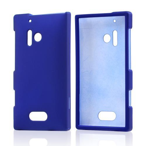 Blue Rubberized Hard Case for Nokia Lumia 928