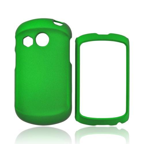 Pantech Swift Rubberized Hard Case - Green