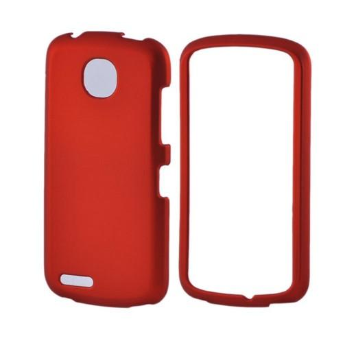 Pantech Marauder Rubberized Hard Case - Orange