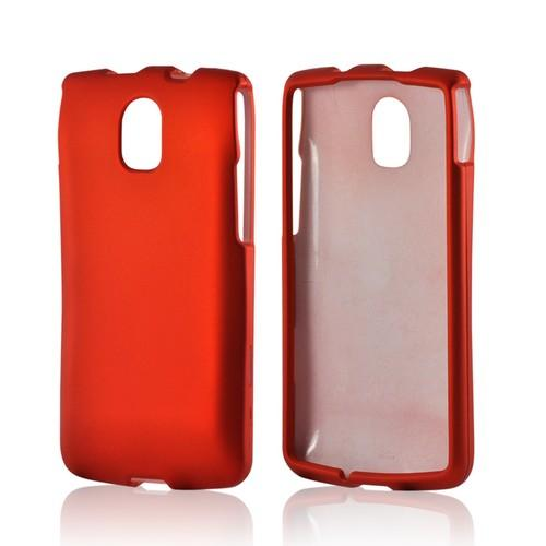 Orange Rubberized Hard Case for Pantech Discover