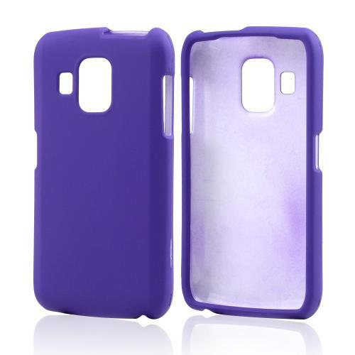 Purple Rubberized Hard Case for Pantech Perception