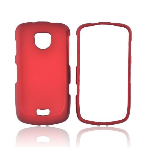 Samsung Droid Charge Rubberized Hard Case - Red