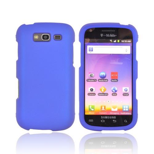 Samsung Galaxy S Blaze 4G Rubberized Hard Case - Blue