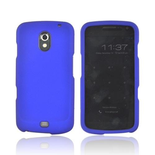 Samsung Galaxy Nexus Rubberized Hard Case - Blue