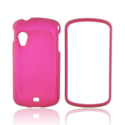 Samsung Stratosphere i405 Rubberized Hard Case - Rose Pink