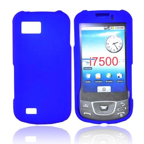 Samsung Galaxy I7500 Rubberized Hard Case - Blue