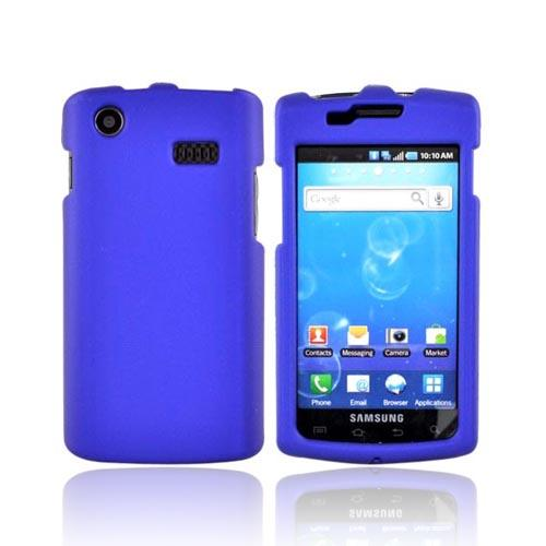 Luxmo Samsung Captivate i897 Rubberized Hard Case - Blue