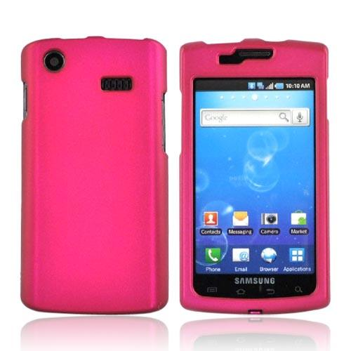 Luxmo Samsung Captivate i897 Rubberized Hard Case - Rose Pink