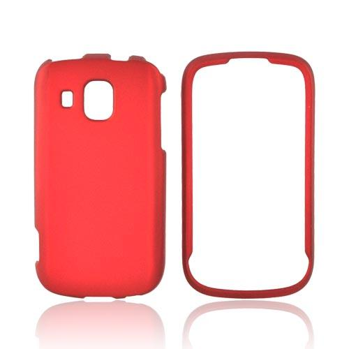 Samsung Transform Ultra M930 Rubberized Hard Case - Red