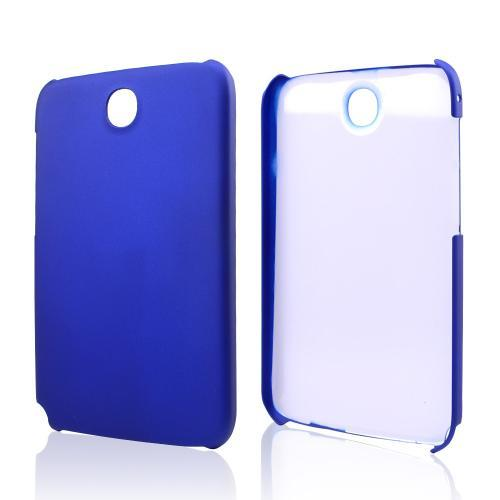 Blue Rubberized Hard Case for Samsung Galaxy Note 8.0