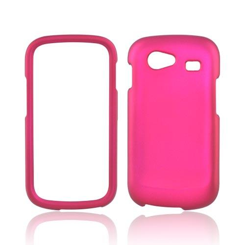 Google Nexus S Rubberized Hard Case - Rose Pink