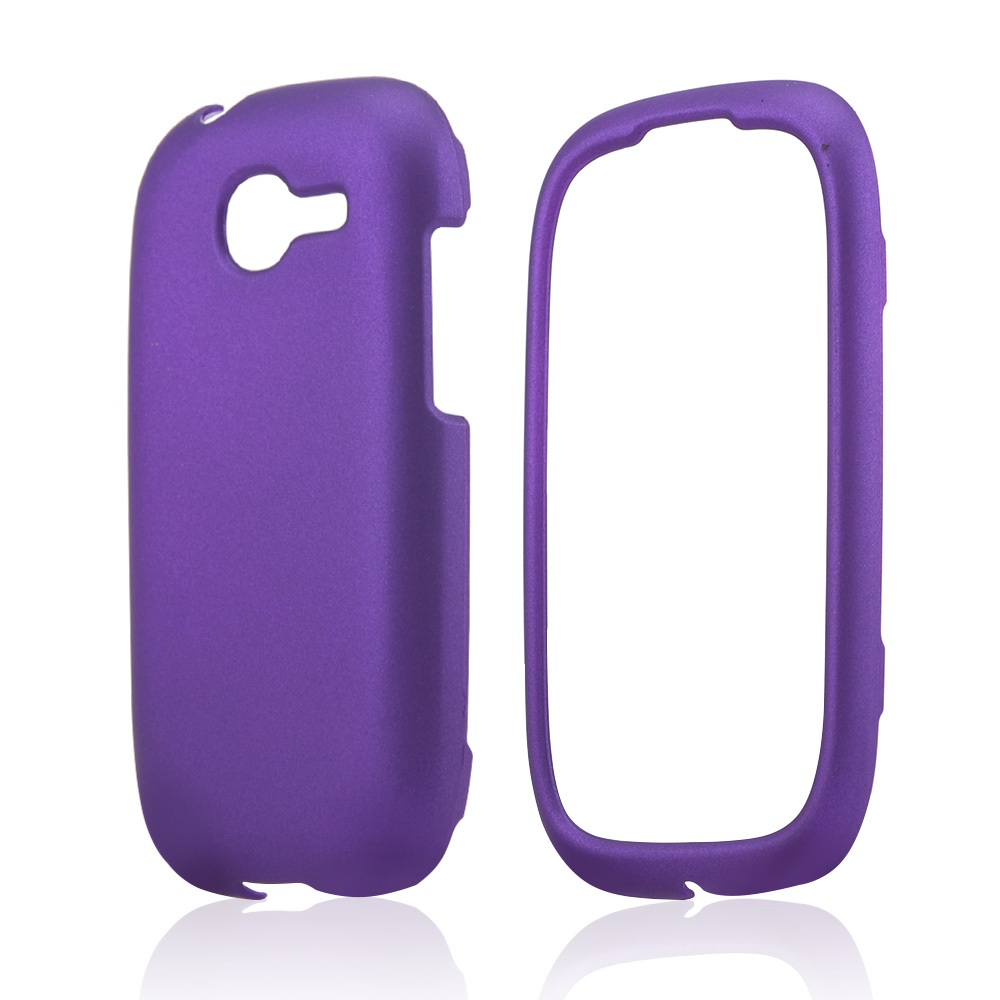 Purple Rubberized Hard Case for Samsung Gravity Q