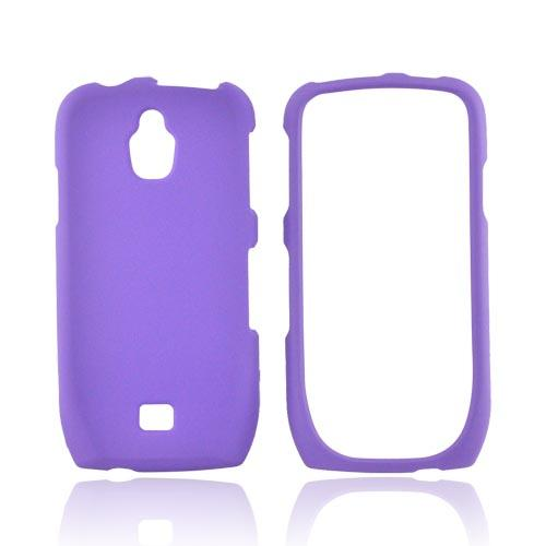 Samsung Exhibit T759 Rubberized Hard Case - Purple