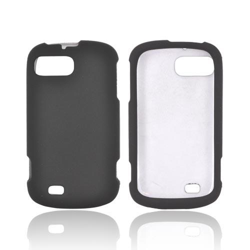 ZTE Fury N850 Rubberized Hard Case - Black