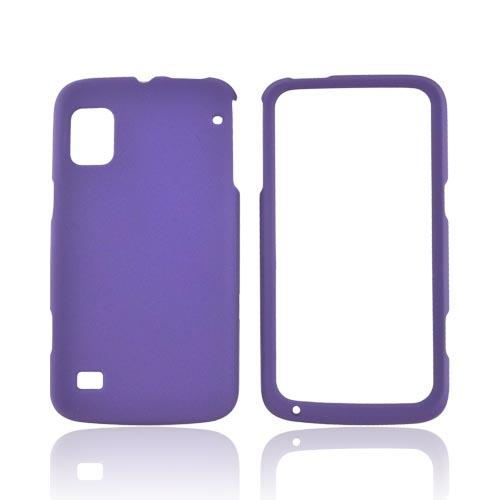 ZTE Warp Rubberized Hard Case - Purple