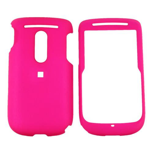 TMobile Dash 3G Rubberized Hard Case - Hot Pink