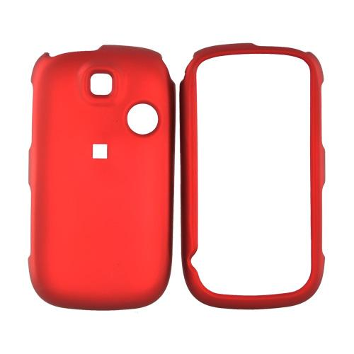 TMobile Tap Rubberized Hard Case - Red