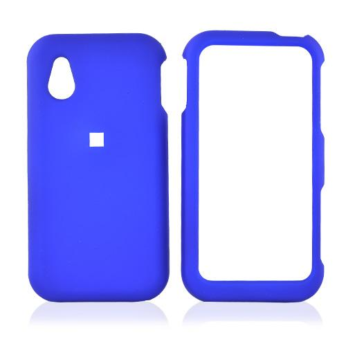LG Opera TV Rubberized Hard Case - Blue