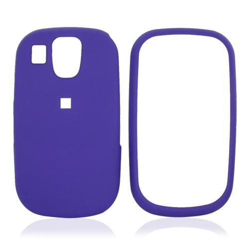 Samsung Flight A797 Rubberized Hard Case - Purple