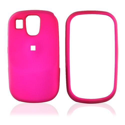 Samsung Flight A797 Rubberized Hard Case - Rose Pink