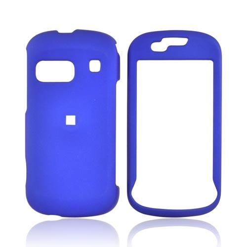Samsung Craft R900 Rubberized Hard Case - Blue