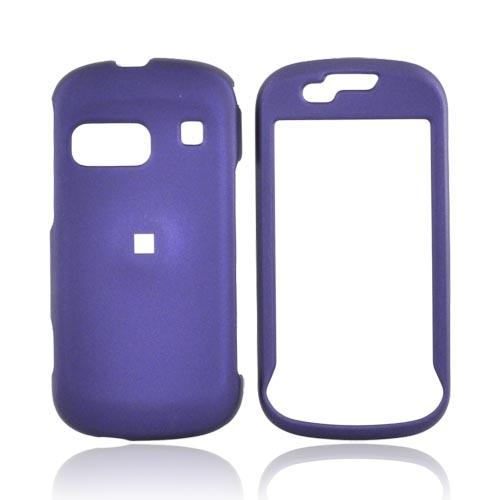 Samsung Craft R900 Rubberized Hard Case - Purple