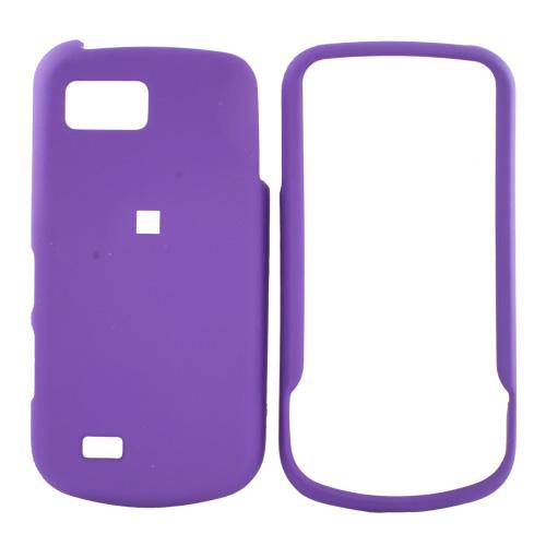 Samsung Behold 2 T939 Rubberized Hard Case - Purple