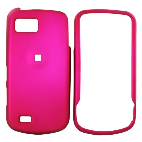 Samsung Behold 2 T939 Rubberized Hard Case - Rose Pink