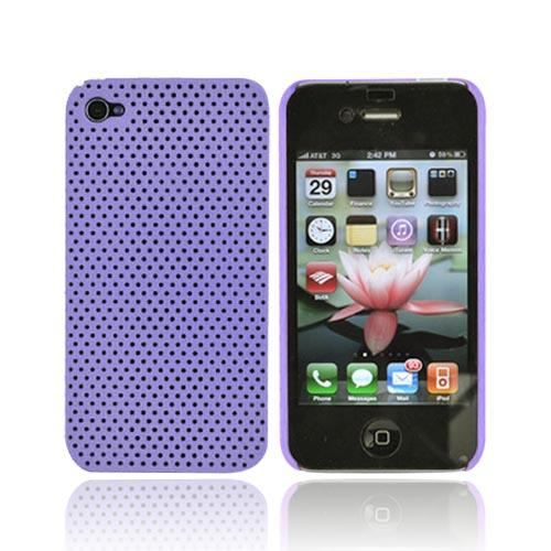 Apple iPhone 4 Back Cover Hard Case - Purple