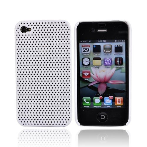Apple iPhone 4 Back Cover Hard Case - White