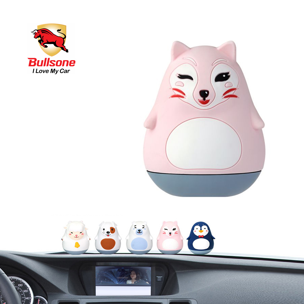 Car air freshener floral bullsone pola family dashboard shasha 100 natural