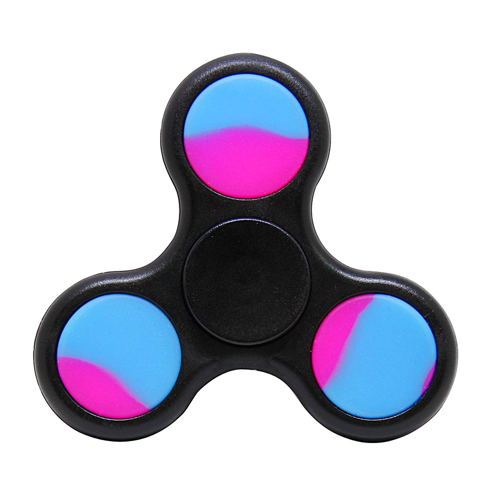 [Fidget Spinner] REDSHIELD Decompression Hand Spinner Toy - Finger Toy, Perfect For Boredom, ADD, ADHD, Anxiety, and Autism Adult or Children [Black]