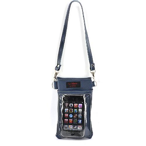Original TurtleBack G-Mate iPhone/iPod Genuine Leather Carry Case - Delta Blue