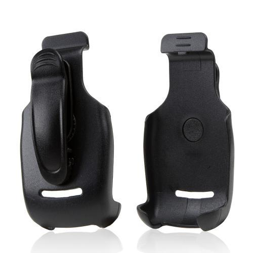 Premium Motorola Barrage & Quantico Holster Face-Inward w/ Swivel Belt Clip - Black