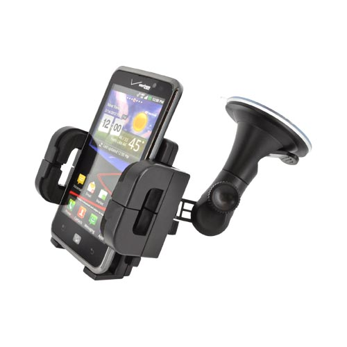 Windshield Mount Cell Phone Holder / iPod Holder / PDA Holder