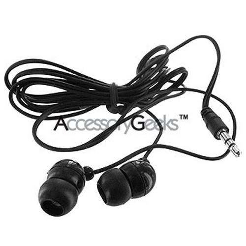 Earbud Stereo Headset (3.5mm jack) - Black