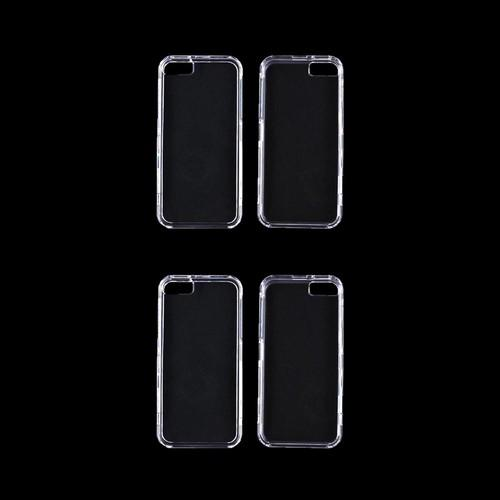 Apple iPhone SE/5/5S Essential Bundle w/ 2 Clear Hard Cases