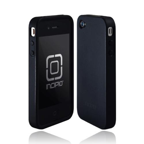 Original Incipio NGP Apple iPhone 4 Impact Soft Shell Case, IPH-527- Black