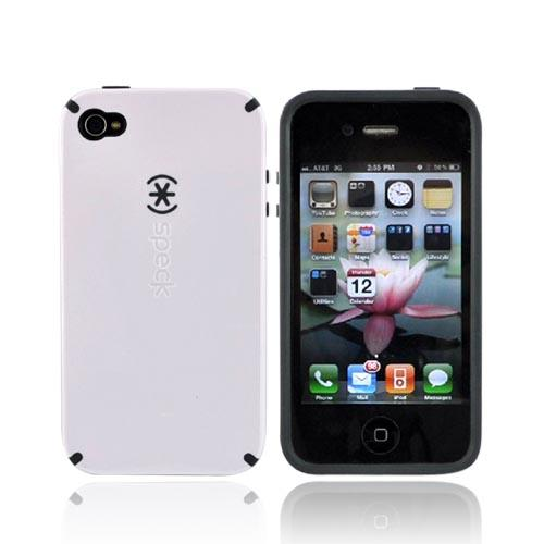 Original Speck Apple iPhone 4 CandyShell Case, IPH4CNDY-A04A05 - Moonsicle White